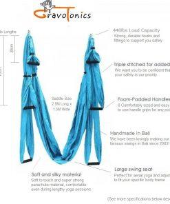 Gravotonics Yoga Swing Features
