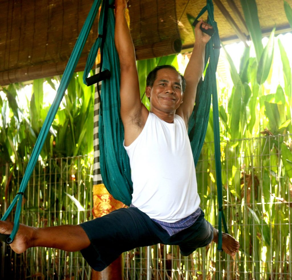 Aerial Yoga Little Known Benefits