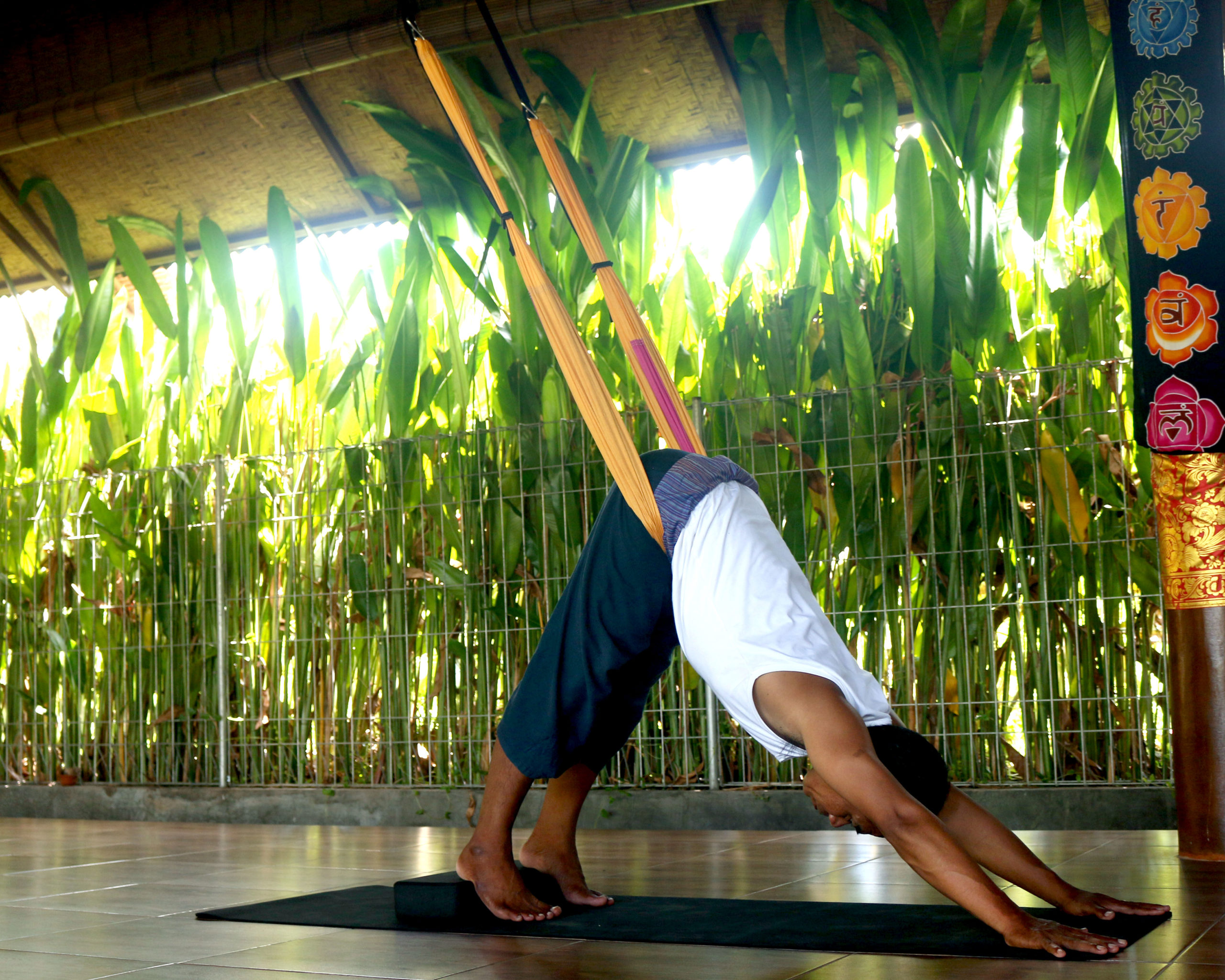 Yoga Swing Positions for Back Pain