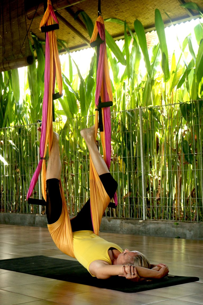 Yoga Swing Positions to Ease Back Pain