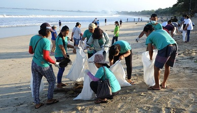clean up bali