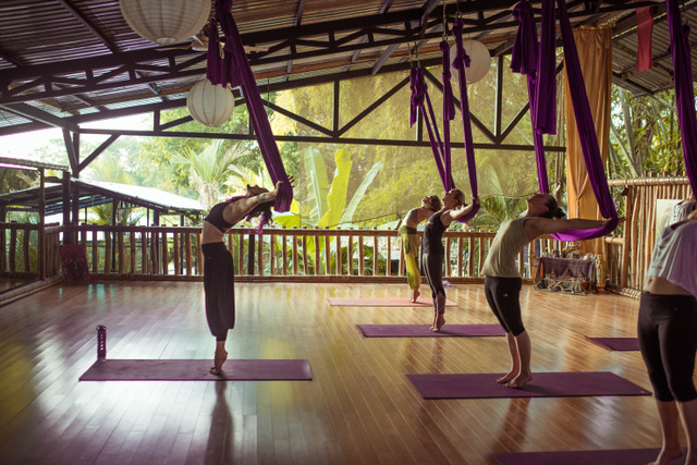 Aerial Yoga for Beginners Class