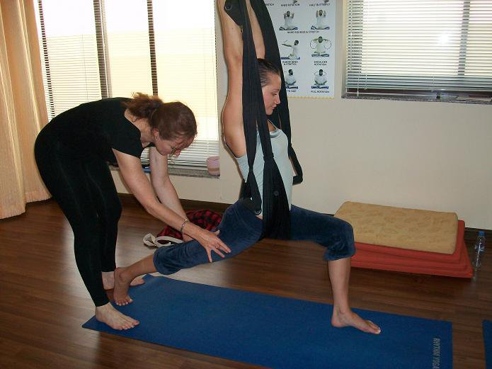 Aerial Yoga for Beginners Training