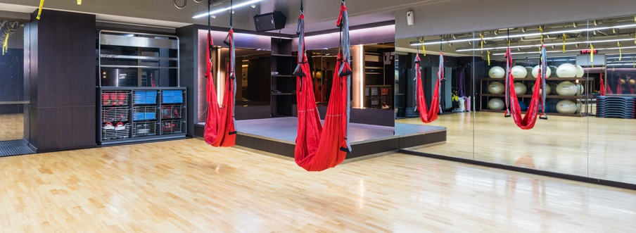 Fitness First aerial yoga classes