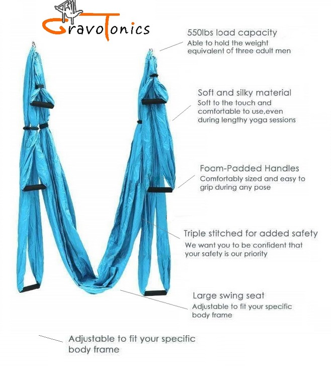 Gravotonics Yoga Trapeze Features
