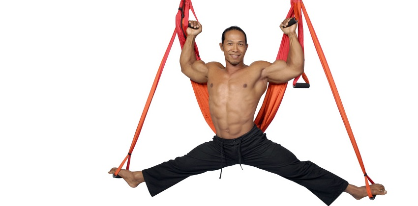 The Gravotonics Yoga Swing & Aerial Fitness System