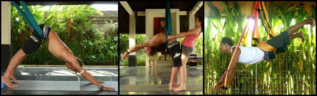 What are Aerial Yoga Swing Postures