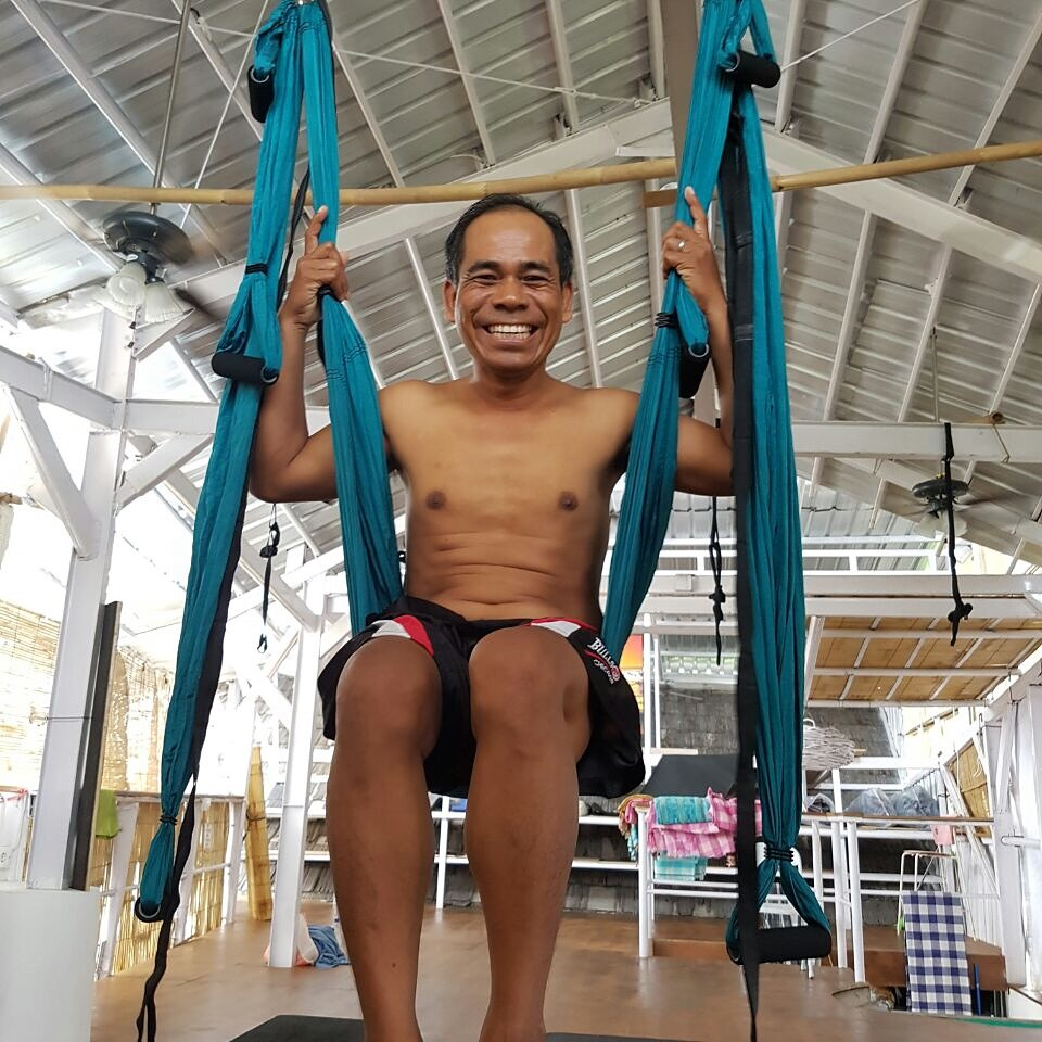 What is Aerial Yoga - Smile