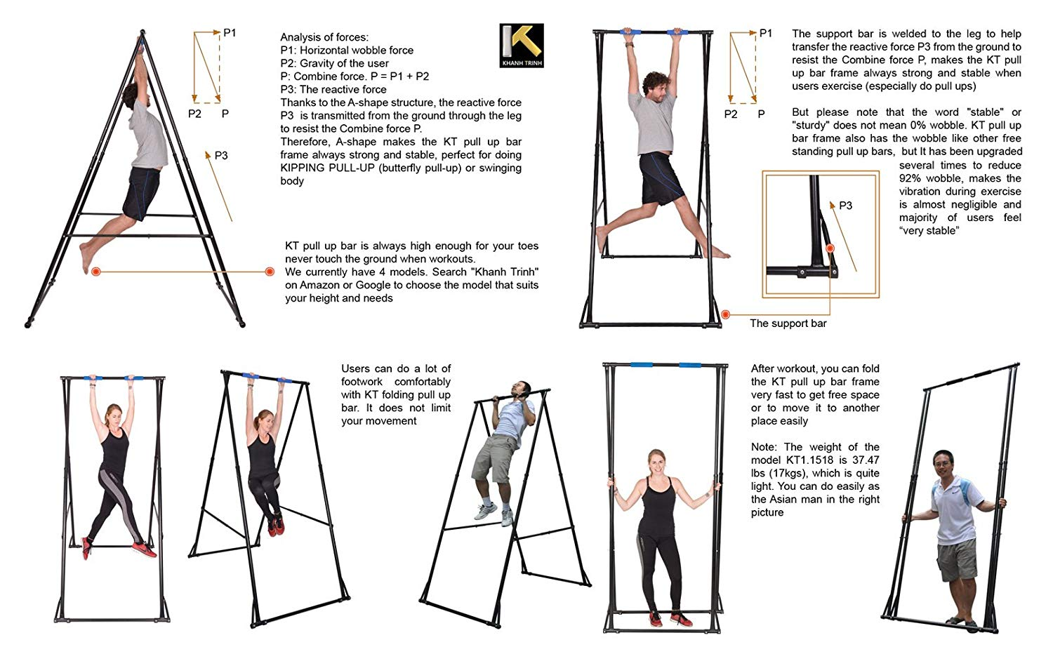 KT yoga stand explanations