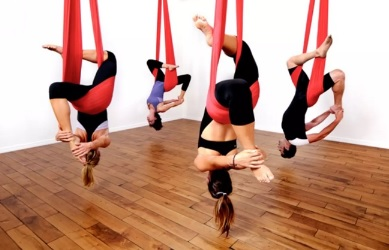 How to Start Aerial Yoga Classes
