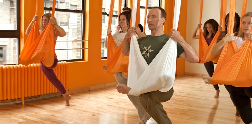 How to Start Aerial Yoga