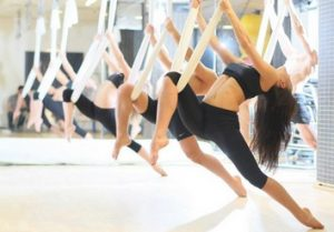 active with aerial yoga classes