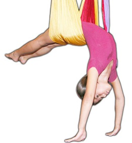 kids who can do aerial yoga
