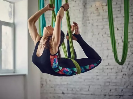 aerial yoga guide - is aerial yoga hard