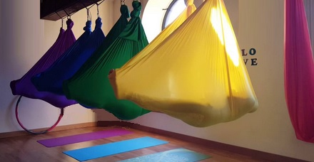 best aerial yoga poses for stress  gravotonics yoga