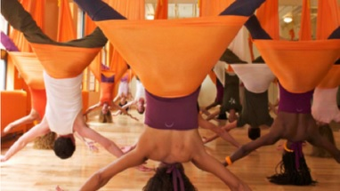 yoga swings cleaning for aerial yoga classes