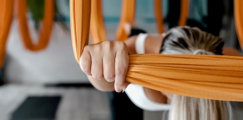 Using Aerial Yoga and Massage for Body Therapy