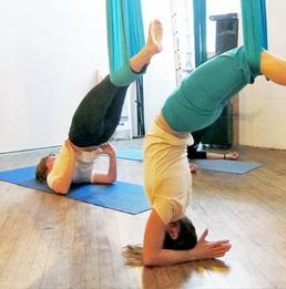 Anti-gravity yoga weightloss