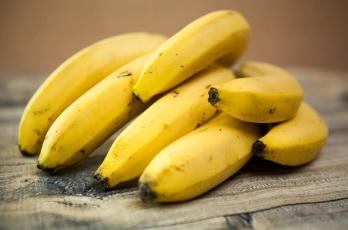 aero yoga practice - bananas
