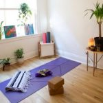 aerial yoga home retreat