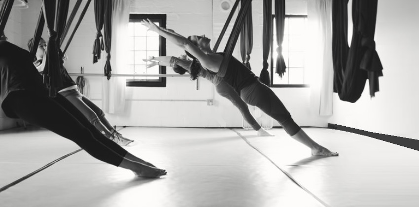 Aerial Yoga Poses for Weight Loss