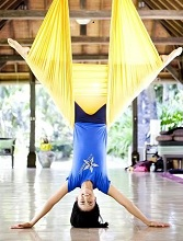 Weight Loss Aerial Yoga Poses