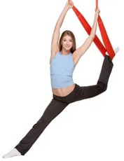 aerial swing yoga at home