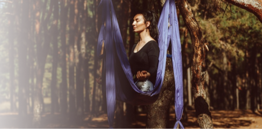 Best Morning Aerial Yoga Poses