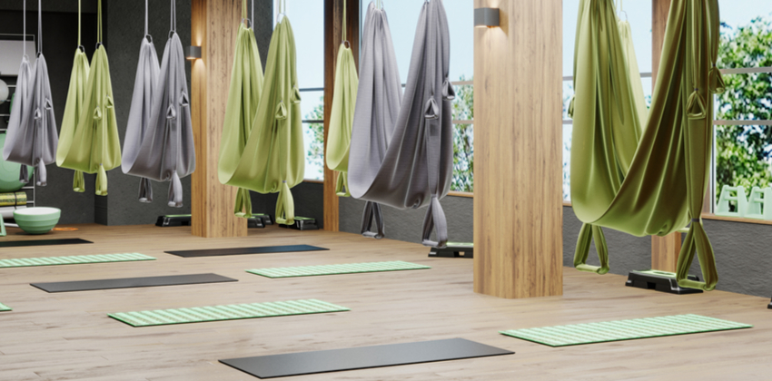How to Choose a Yoga Swing Class
